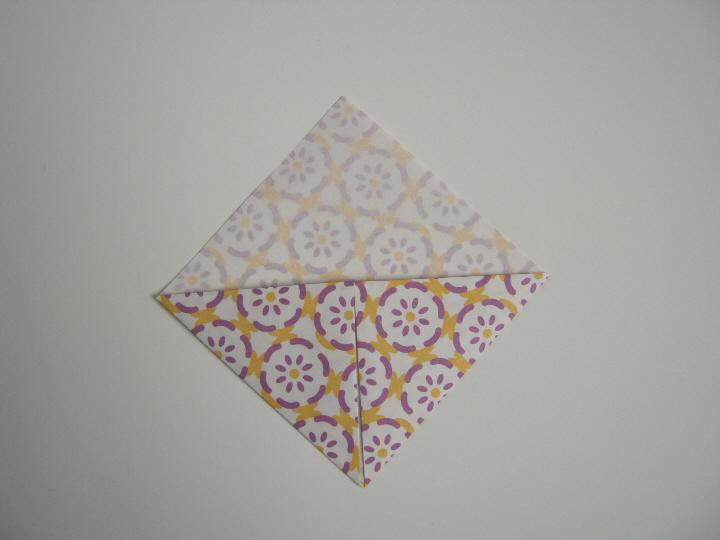 Origami bookmark 7