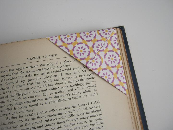 Origami bookmark 8