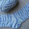 """Acquamarine"" socks"