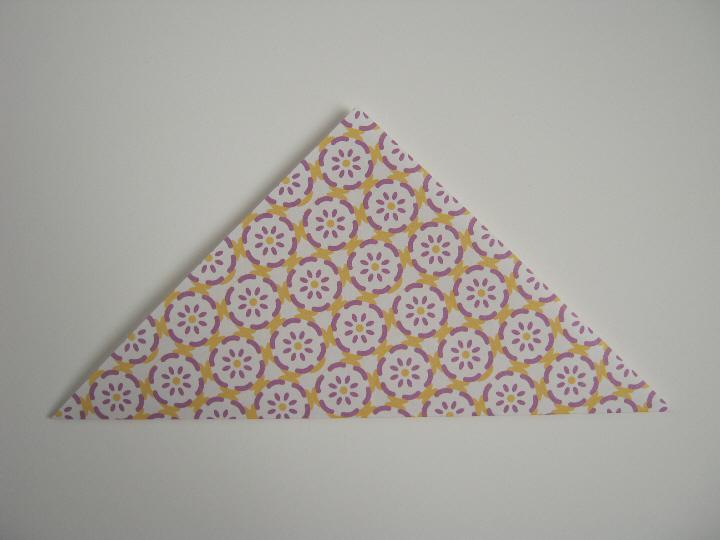 Origami bookmark 2
