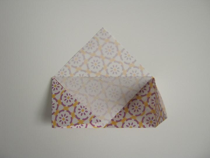 Origami bookmark 5