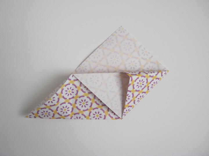 Origami bookmark 6