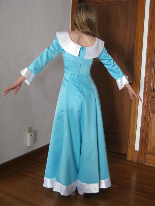 A Bluestocking Knits A Princess Rosalina Dress