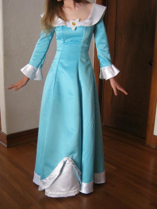 Mario Princess Rosalina Costume
