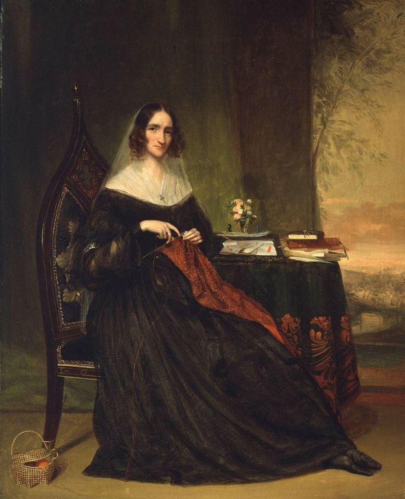 Harding chester - Mrs. Abbott Lawrence (Katherine Bigelow) - ca1855