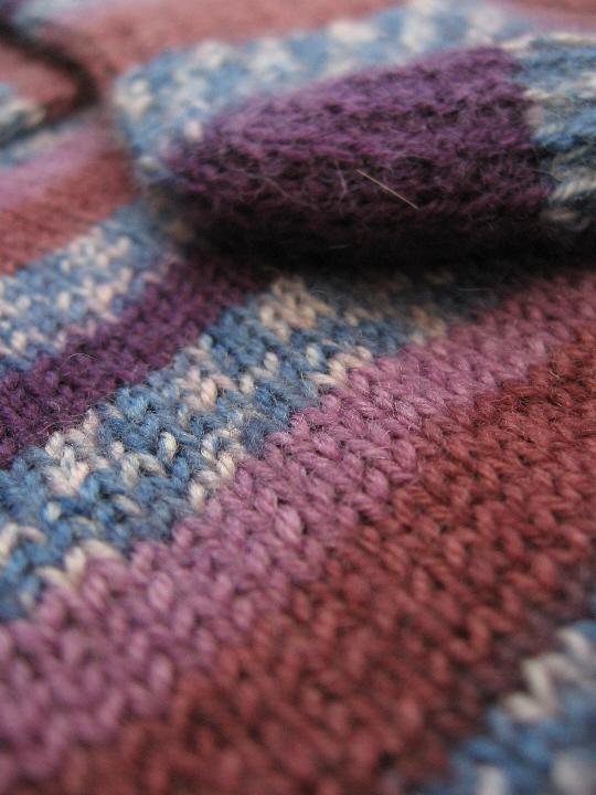 Loops and threads luxury sock crocuses 2