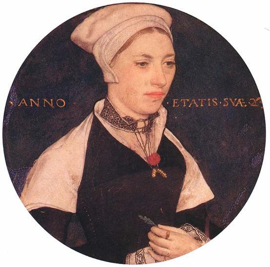 Holbein - mrs pemberton - 1535