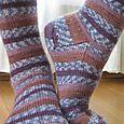 """School Socks in """"Crocuses"""""""