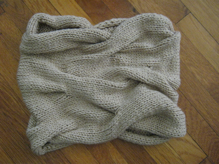 A Bluestocking Knits Thoughts On The Burberry Inspired Cowl And The