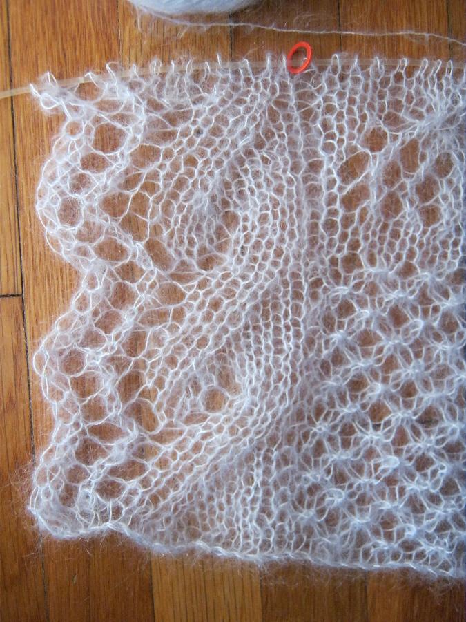 A Bluestocking Knits Knitted Lace