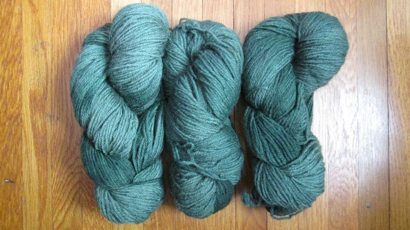 Araucania nature wool 16 green