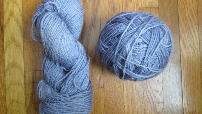Araucania nature wool 45 purple