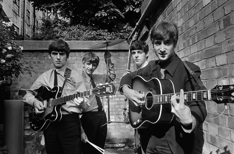 Beatles 1963 terry oneill