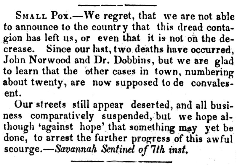 Dobbins notice liberty mo weekly tribune 13 feb 1852