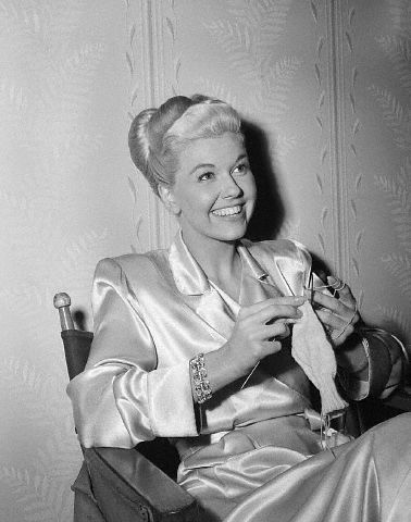 Knitting doris day