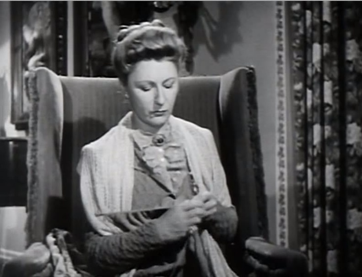 Knitting judith anderson in and then there were none