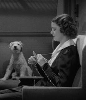 Knitting myrna loy