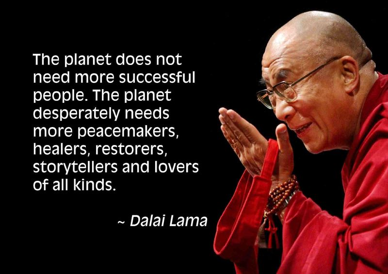 Dalai lama successful people