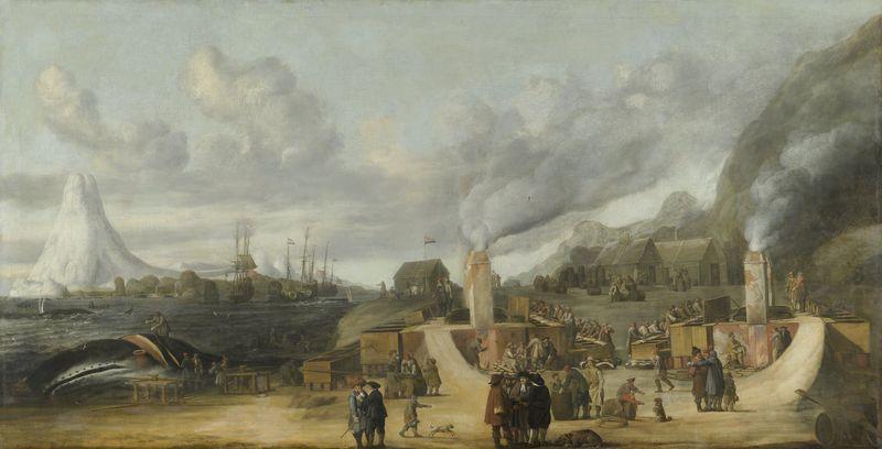 Traankokerijen_bij_het_dorp_Smerenburg_Rijksmuseum_SK-A-2355