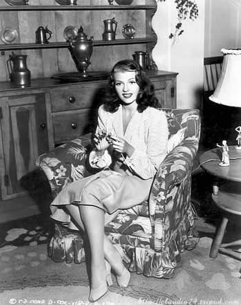 Knitting rita hayworth