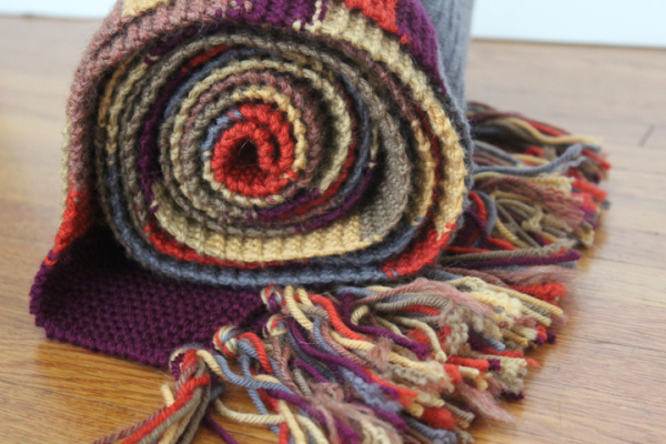 A Bluestocking Knits Thoughts On The Fourth Doctor Scarf