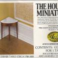 Hepplewhite Corner Table 40061 box