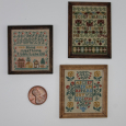 "Three ""Antique"" Samplers"