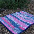 Stay-at-Home Jelly Roll Quilt