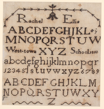 Ellis Rachel 1800 - Westtown Quaker School Philadelphia