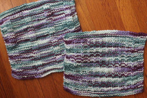 Alex's Cloth and Waffle Knit Dishcloths