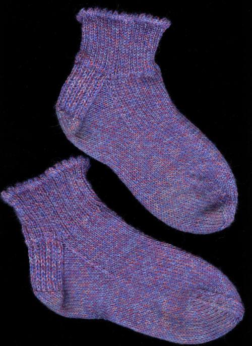 Columbine Girl's Socks