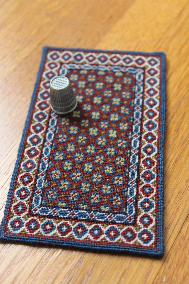 Small-patterned Holbein carpet (No.2)