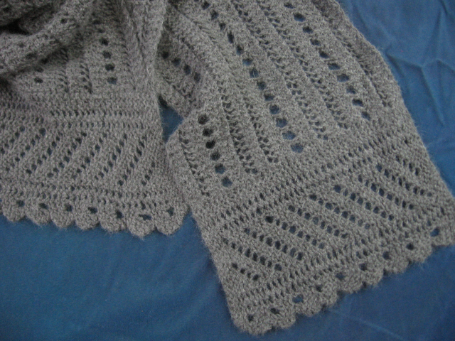 """Sophie"" Lace Scarf"