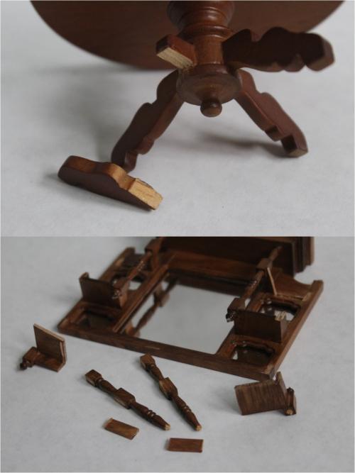 Broken furniture
