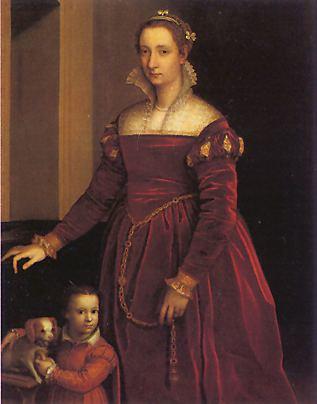 Anguissola_doubleportraitofaladyandherdo