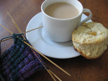 Scones_and_sock